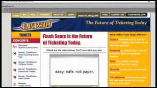 Flash Seats® Tutorial