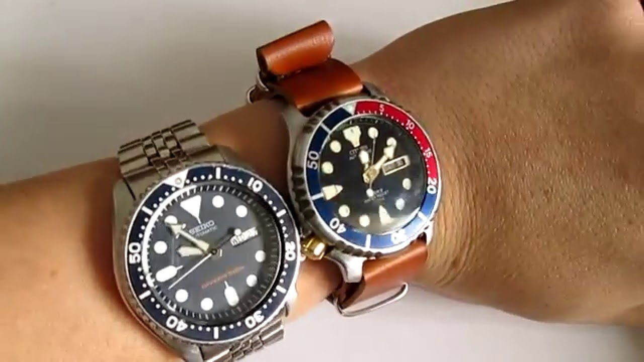 Citizen Promaster Vs Seiko Skx Youtube Nh8388 81e
