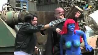 """Pânico na TV - Dramaturgia no Pânico encena """"X-Men"""" - 18/09/2011"""