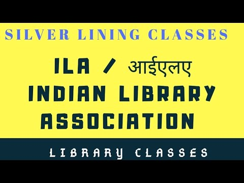 Part 1 ILA (Indian Library Association)
