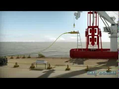 Deep Down, Inc. - Umbilical Loadout using Vessel Crane