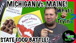 Battle of the State Foods - Michigan Vs. Maine! | What
