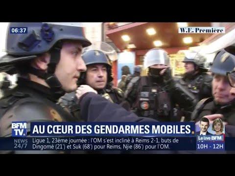 Gilets jaunes: au coeur d'un escadron de gendarmes mobiles