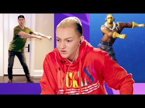 "Backpack Kid Judges Fortnite ""Floss"" Dances"