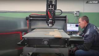 Инженеры Purelogic R&D произвели выездную пусконаладку станка с ЧПУ