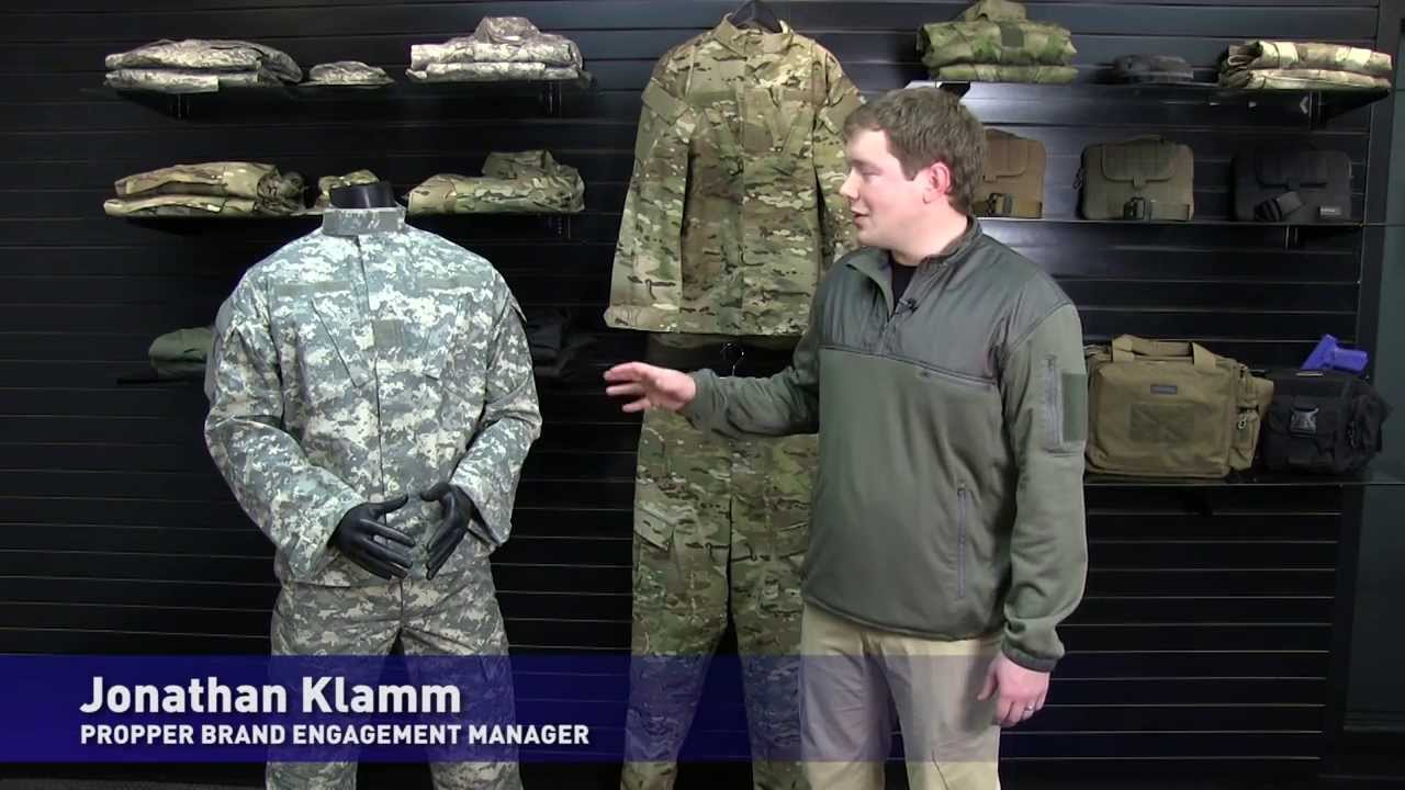 df9f392e3340 Propper Flame Resistant ACU Coats   Pants - YouTube