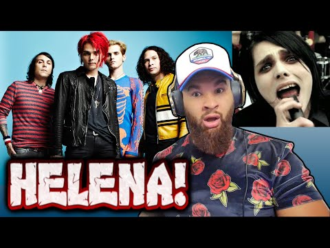 FIRST TIME REACTING TO: MY CHEMICAL ROMANCE - HELENA [VIDEO]