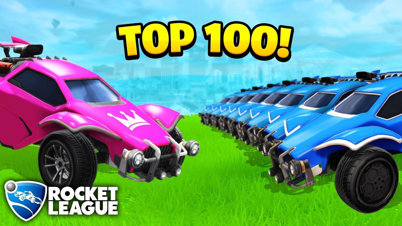 TOP 100 Rocket League Goals & Funny Moments #4
