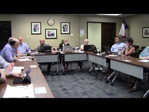 July 29, 2014 Board Meeting Special Called for Bond Consideration