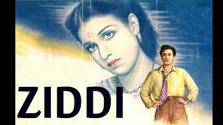 Ziddi│Full Hindi Movie│Dev Anand, Kamini Kaushal│Part 1