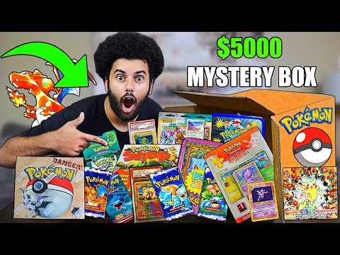 I Bought A $5,000 POKEMON CARDS MYSTERY BOX!! From The WORLD'S BIGGEST POKEMON COLLECTOR!! *VINTAGE*