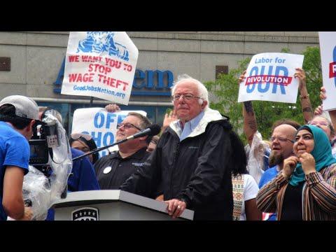 Bernie Sanders Good Jobs Nation Rally Indianapolis 8/21/2017