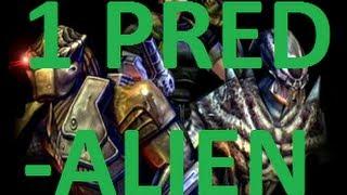 Aliens Vs Predator 2: Primal Hunt (Predalien) Walkthrough Part 1 HD
