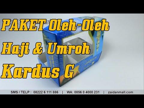 Paket Oleh Oleh Haji dan Umroh Kardus G   0822-2611-1886   ZaidanMall.com from YouTube · Duration:  1 minutes 1 seconds