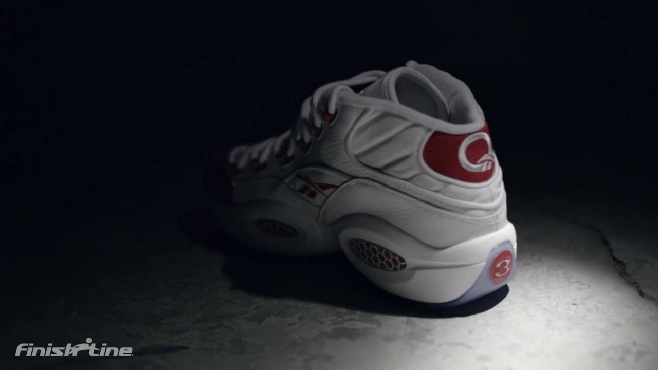 08ce8b321dc Allen Iverson speaks on his 2016 Reebok Question Mid Shoes - YouTube
