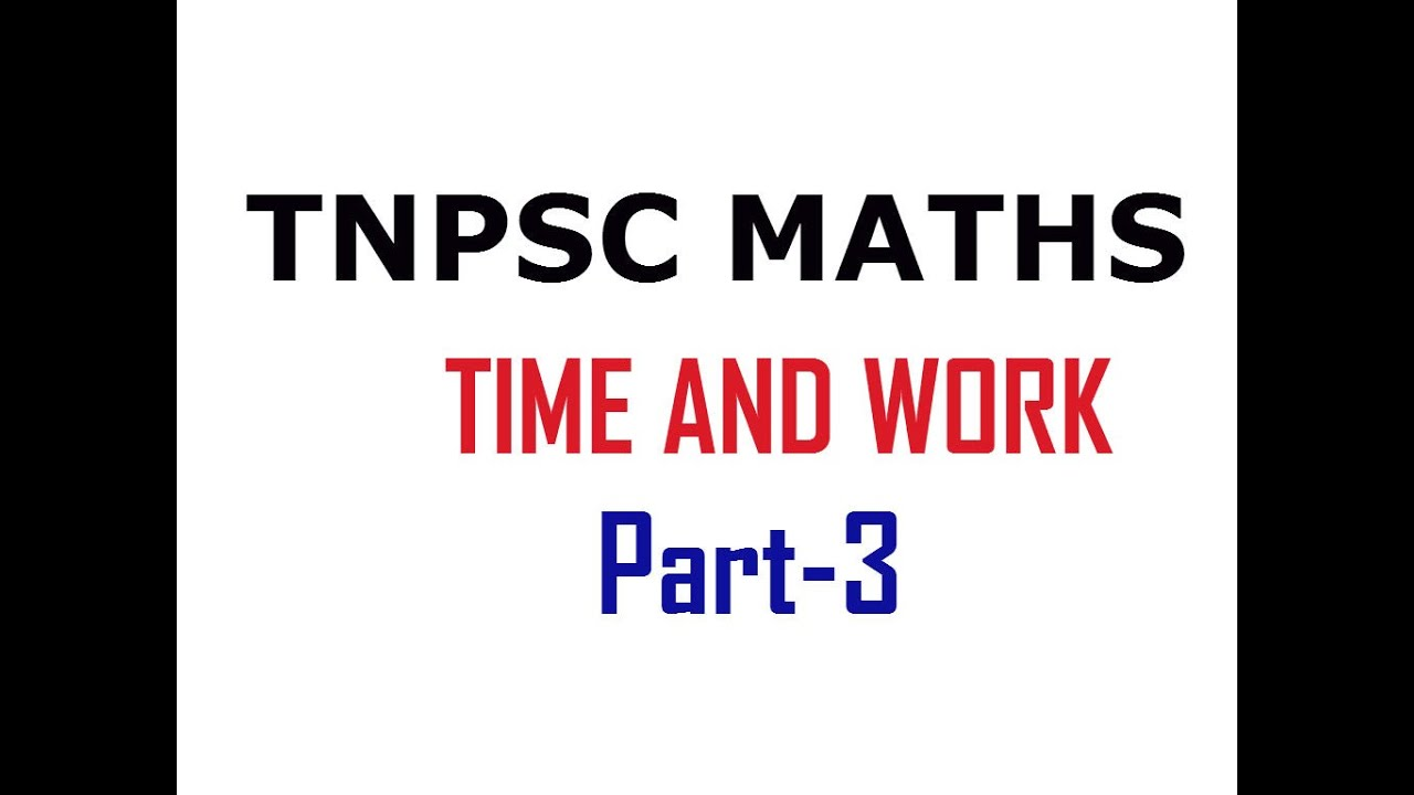 aptitude on time and work Time and work problem comes under quantitative aptitude question answers: this mock test having 15 question, with four choices on each click on answers system will.
