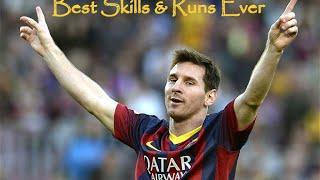Leo Messi ● Best Skills & Runs Ever ● HD