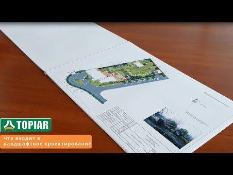 Проект ландшафтного дизайна. Что входит в ландшафтное проектирование