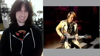 British guitarist analyses Glen Campbell the lead guitarist live in 1975!
