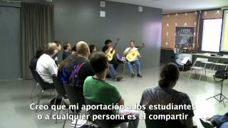 Resumen Master Guitarra Alicante 2013 (English subtitles)