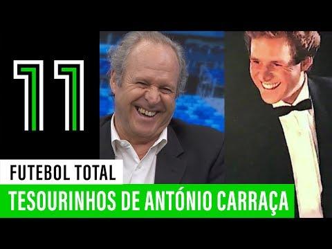 Futebol Total: Tesourinhos de António Carraça