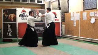 katadori menuchi sankyo [AIKIDO]  basic technique