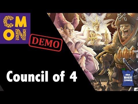 CMON Expo 2017: Council of Four Demo!!