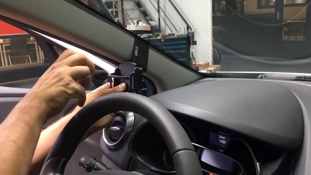 Brodit Universele Telefoonhouder Renault Clio Youtube