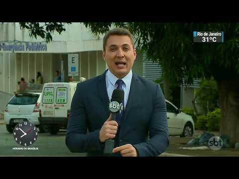 Hospitais públicos do Distrito Federal estão tomados por lixo e sujeira | SBT Brasil (18/11/17)