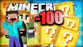 Minecraft SPIRAL LUCKY BLOCKS - 100% PURES PECH!