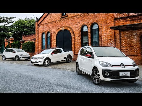 VW lança Up!, Saveiro e Pepper 2018 - vídeo oficial - www.car.blog.br