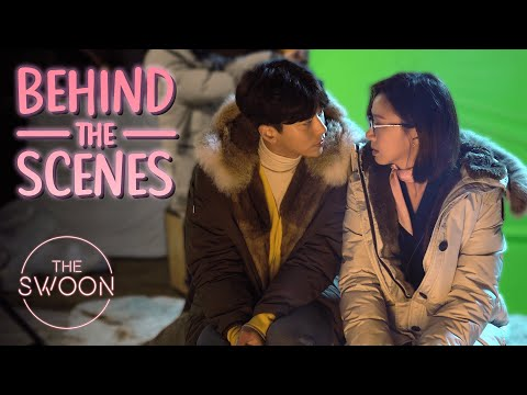 [Behind The Scenes] Yoon Hyun-min & Ko Sung-hee Can't Stop Laughing On Set | My Holo Love [ENG SUB]