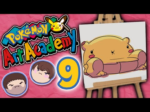 Pokemon Art Academy: Phil Bucket - PART 9 - Grumpcade