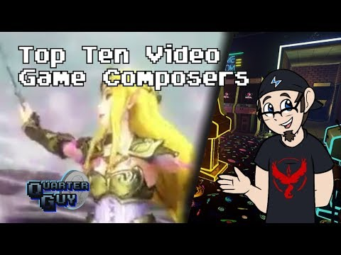 Top Ten Video Game Composers - The Quarter Guy