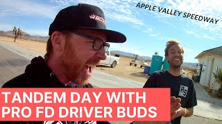 Gambar cover Tandem Practice Day with Pro Formula D buds at Apple Valley Speedway