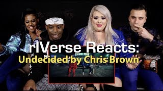 rIVerse Reacts: Undecided by Chris Brown - M/V Reaction