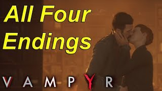 🧛 Vampyr - All Four Endings (And how to get them)🧛