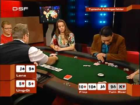 spielregeln poker
