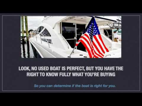 Boat Buying Checklist| Used Boat Buyers Guide| DIY Boating Inspection