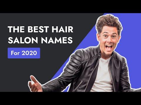 77 Unique Classy Hair Salon Names For The High End Salon