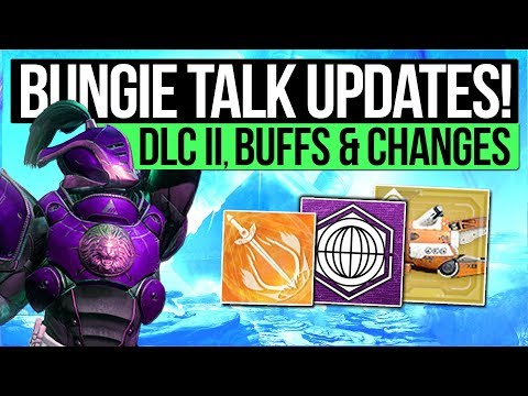 Destiny 2 News | BIG BUFFS & CHANGES! DLC Timeline, Clan Engram Nerf, Exotic Tweaks, Solo PvP & More