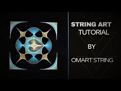 String Art How To Make Mandala Tutorial Patterns thumbnail