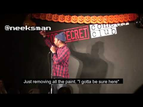 Comedian ROASTS Asbestos Man | Nico Yearwood | Bajan Comedian