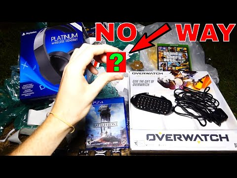 NO WAY!!! Gamestop Dumpster Diving Night #521