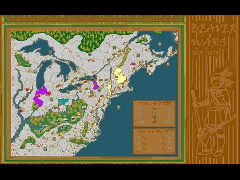 WarLight game: Map of Next Week (Beaver Wars)