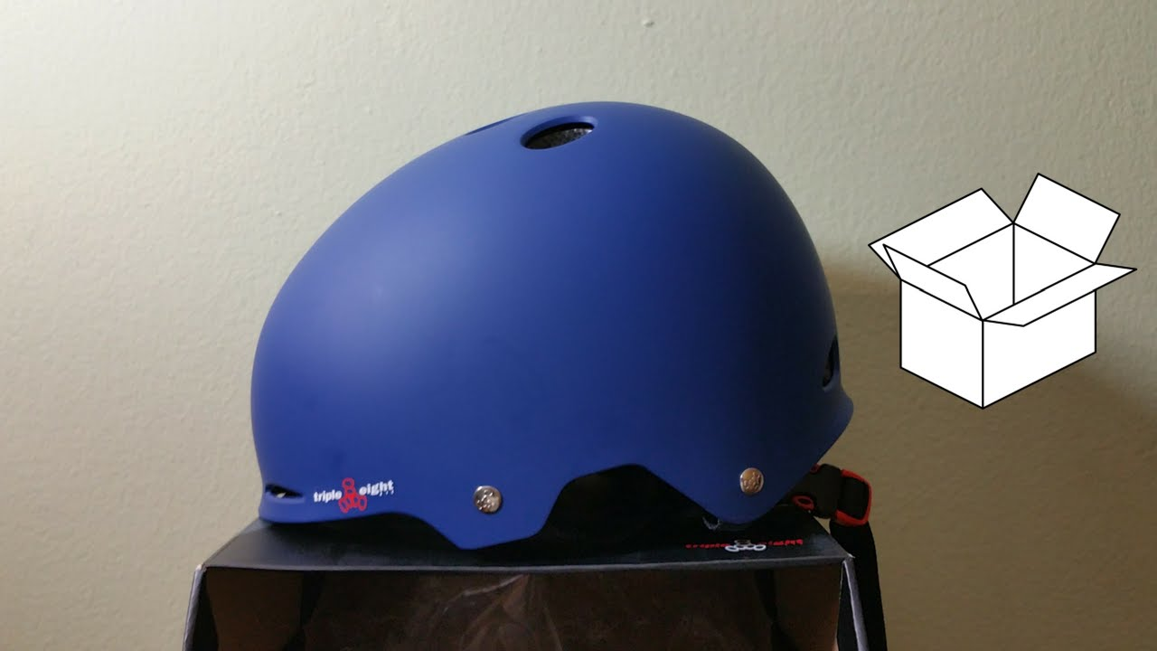 Triple Eight Gotham Matte Helmet Inline & Roller Skating Sports & Outdoors