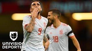 Gales 1-4 España - GOLES Y RESUMEN – Amistoso Internacional
