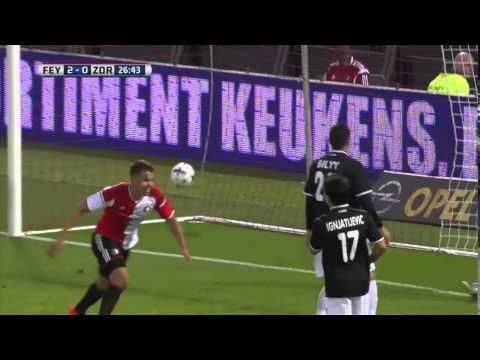 Feyenoord - Zorya Luhansk 4-3 (Highlights 28-08-2014)
