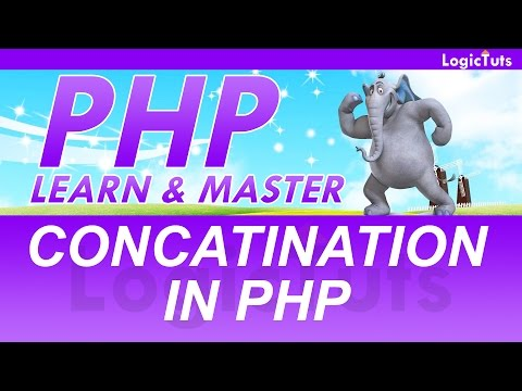 String Concatenation  - Easy Php For Beginners