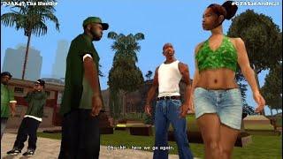 GTA San Andreas (PS4) | Gameplay Walkthrough Part 1 W/ DJAK47 Tha Hustler